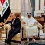 Katar Emiri, Mısır Cumhurbaşkanı ve Kuveyt Başbakanı Bağdat'ta