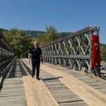 Bakan Karaismailoğlu Kumluca-2 köprüsünün açılışına katıldı