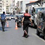 Şişli'de asayiş denetimi: Araçlar didik didik arandı