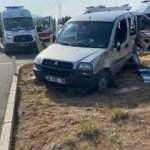 Sivas'ta ambulans ile ticari araç çarpıştı: 1 ölü, 6 yaralı