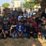 TEM'de durdurulan minibüsten 50 kaçak göçmen çıktı