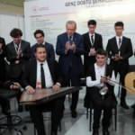 Üsküdar Hakkı Demir Anadolu İHL öğrencilerinden Erdoğan'a musiki dinletisi
