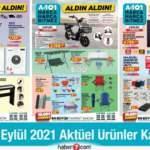 A101 2 Eylül 2021 Aktüel Kataloğu! Bugüne özel züccaciye, beyaz eşya, elektronik ürünlerde..