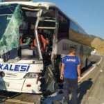 Bitlis'te yolcu otobüsü tırla çarpıştı!