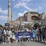 YTB Türk Dünyası Genç Liderler Programı öğrencileri İstanbul'da