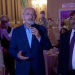 Kılıçdaroğlu'nun düğünde anlattığı fıkraya kimse gülmedi
