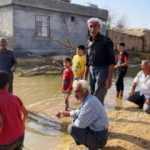 Taban suyu yükseldi: İki mahalle su altında kaldı