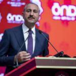 Adalet Bakanı Gül: Yeni anayasayı milletimizle yapacağız