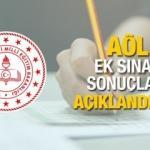 AÖL sınavları ne zaman açıklanacak? MEB Açık Öğretim Lisesi ek sınav sonuç tarihi...