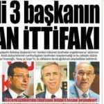 CHP'li 3 başkanın yalan ittifakı: 4 Eylül cumartesi gazete manşetleri 2021