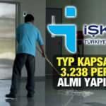 İŞKUR TYP ile en az ilkokul mezunu 13.238 personel alımı sürüyor! Başvuru için bugün son gün