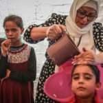 İsveç'ten gelen gönüllü kuaförler, İdlibli yetim kız çocuklarının saçlarını ördü