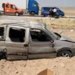 Korkunç kazada can pazarı! Araç takla attı, 1 ölü 2'si çocuk 4 yaralı