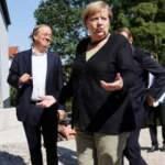 Merkel, selden etkilenen bölgeyi ziyaret etti