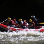 Rafting tutkunları Melen Çayı'nda adrenalin dolu anlar yaşıyor