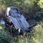 Sivas'ta otomobil şarampole devrildi: Aynı aileden 6 yaralı
