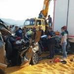 Son dakika! Manisa'da feci kaza: 3 ölü, 5 yaralı