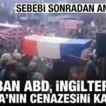 Taliban'dan sevinç gösterileri: ABD, Fransa ve İngiltere'nin cenazesini kaldırdılar
