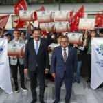 Zafer Treni Ankara'dan 99 genç ile yola çıktı