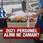 PTT personel alımı başvurusu ne zaman? 2021 PTT KPSS taban puanı kaç olacak?