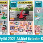 A101 9 EYLÜL 2021 AKTÜEL KATALOG ÜRÜNLERİ
