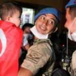 Afrin'den dönen kahramanları çocukları karşıladı
