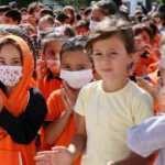 Aksaray'da okula başlayan miniklerden aşı çağrısı