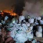 Avcılar'da fabrikada korkutan yangın