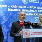 Bakan Karaismailoğlu açıkladı: İstanbul'da metronun yeni simgesi