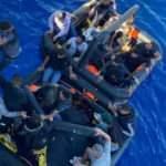 Datça açıklarında Türk karasurlarına itilen 21 göçmen kurtarıldı