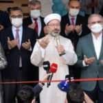 Diyanet İşleri Başkanı Erbaş, Diyarbakır'da açılışa katıldı!