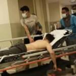 Fabrikada üzerine asit dökülen işçi yaralandı