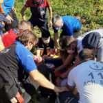 Hasandağı'ndan havalanan yamaç paraşütçüsü, patates tarlasına düştü