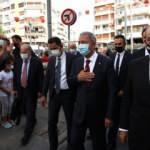 """KKTC Cumhurbaşkanı Tatar, Bakan Akar ile birlikte """"İzmir Airshow'u izledi"""