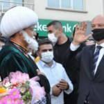 KKTC Cumhurbaşkanı Tatar'ı Konya'da Nasrettin Hoca karşıladı