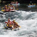 Köprülü Kanyon yerli ve yabancı turistlerle dolup taşıyor