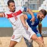 Plaj Futbolu Milli Takımı, Yunanistan'ı 7-5 yendi