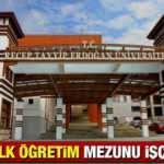 Recep Tayyip Erdoğan Üniversitesi en az ilköğretim mezunu işçi alımı yapacak! Başvuru şartları neler?