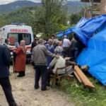 Taziye evinde balkon çöktü: 13 yaralı