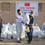 Türkiye'den Afganistan'a gıda yardımı
