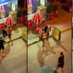 Antalya'da gürültü yüzünden sopayla öldüresiye dayak kamerada