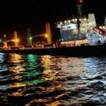 Bozcaada açıklarında korkutan gemi kazası