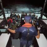 Çanakkale açıklarında 35 kaçak göçmen yakalandı