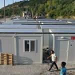 Selden etkilenen vatandaşlar konteyner evlere yerleştiriliyor...