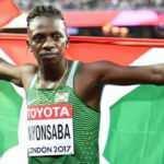 Francine Niyonsaba'dan dünya rekoru