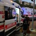 Hafif ticari araç, dönüşü yasak olan yola girdi: 5 kişi yaralandı