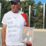 HDP binası önünde başladı kaçırılan kızı için Ankara'ya yürüyecek