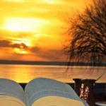 İç Anadolu'nun plajında harika gün batımı