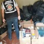 İstanbul'da 1 milyon TL değerinde tütün ele geçirildi