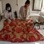 Kanuni Sultan Süleyman'ın kaftanı restore ediliyor